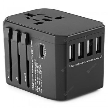 Gocomma Universal Global Travel Power Adapter