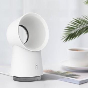 3 in 1 Bladeless Mini Desktop Fan Humidifier LED Light from Xiaomi youpin