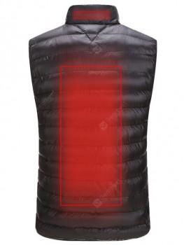 Men's Super Warm Winter Vest Smart Heat Sleeveless Coat without Powerbank