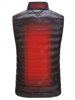 Men's Lightweight Keep Warm Vest Winter Sleeveless Smart Heat Coat without Powerbank