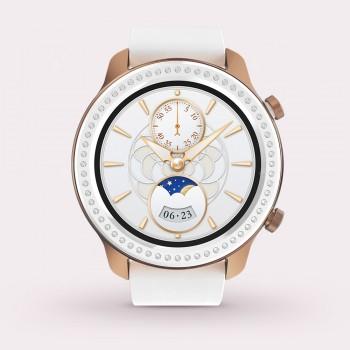 AMAZFIT GTR 42mm Smart Watch Glitter Edition Zirconia from Swarovski 5ATM Waterproof GPS GLONASS 12 Sports Modes 326ppi AMOLED Screen Global Version ( Xiaomi Ecosystem Product )