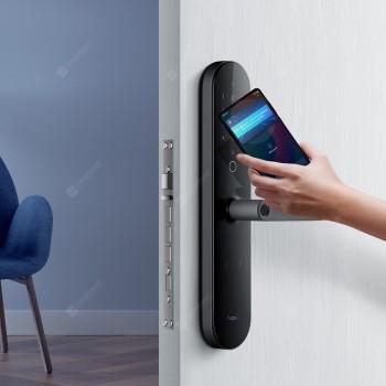 Aqara N100 Smart Door Lock Fingerprint Bluetooth Password Unlock Works with Mijia HomeKit Smart Linkage with Doorbell Feature