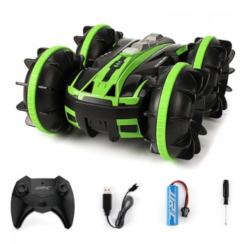 JJRC Q81 1:20 2.4GHz Remote Control 2 in 1 Double-sided Stunt Land Vehicle Drive-ground & Air Modes