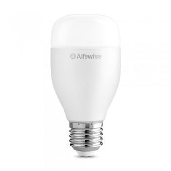 Alfawise LE12 E27 9W 900LM WiFi Smart LED Bulb App Voice Remote Control
