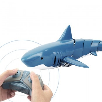 JJRC S10 2.4G Remote Control Simulation Shark Modeling Waterproof RC Boat Toy