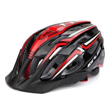 GUB A2 Mountain Road Vehicle Integrally Molded Helmet Bicycle Helmet with USB Charging Taillights