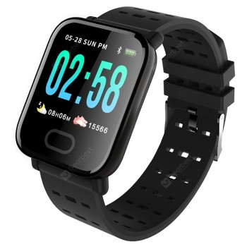 Gocomma A6 Color Screen Smartphone Watch Real-time Monitoring Of Heart Rate