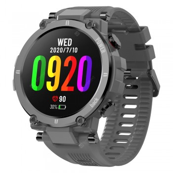 Kospet Raptor Outdoor Smart Watch Rugged 1.3 Inch Smartwatch 30 Days 20 Sports Modes IP68 Waterproof Original Creative UI Watch Face