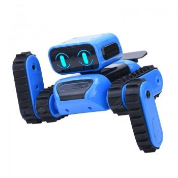 997 STEM DIY Remote Programming / Gesture Sensor Follow / Avoidance Stunt Function Robot Educational Toy Remote Control Version Dual Mode Version