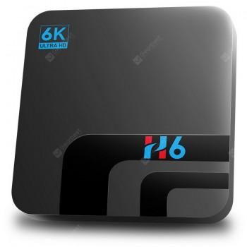 H6 Smart 6K TV Box Android 10.0 2.4G 5.8G WiFi Allwinner H616 3D Video 4GB 32GB 64GB Bluetooth Media Player