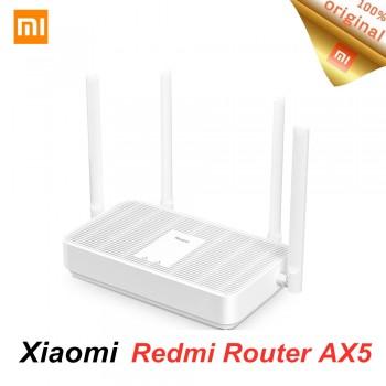 New Xiaomi Redmi Router AX5 Wifi 6 Mesh Gigabit 2.4G/5.0GHz Dual-Band Wireless Router Wifi Repeater 4 High Gain Antennas