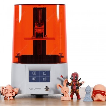 NOVA3D Elfin2 3D Printer Pre-Calibration with 4.3 inch Smart Touch Screen UV LCD 3D Resin Printer with WiFi Printing 130x 70x 150MM Print Size