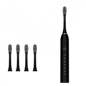 2020 New Electric Toothbrush Sonic Vibration 6 Files Adult Household Soft Fur USB Charging Children Electric Toothbrush