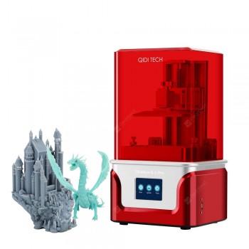 QIDI TECH SLA LCD 3D Printer Shadow 6.0 PRO UV LCD Resin Printer with Dual z axis Liner Rail Build Size 115X65X150mm