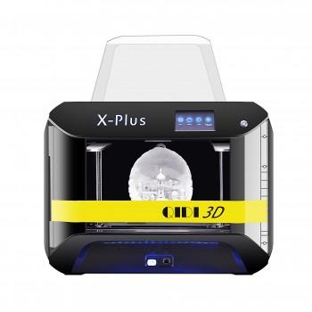 QIDI TECH Large X-Plus Intelligent Industrial Grade 3D Printer printing with 10.6x7.9x7.9 Inch